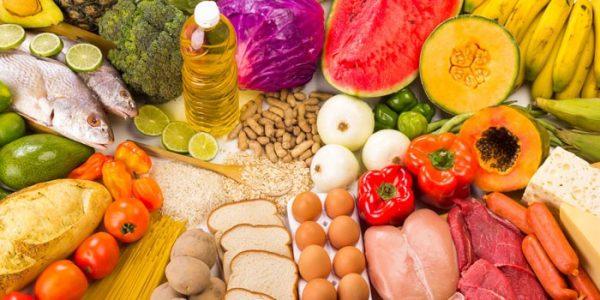 تصویر در رژیم مناسب برای یه زندگی سالم  : چی بخوریم؟ کِی بخوریم؟
