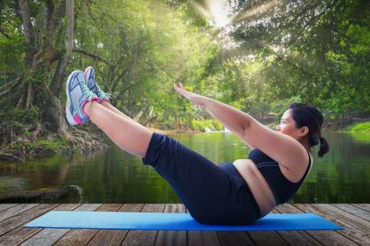 تصویر در چاقی به تنهایی خطر مرگ را افزایش نمیدهد