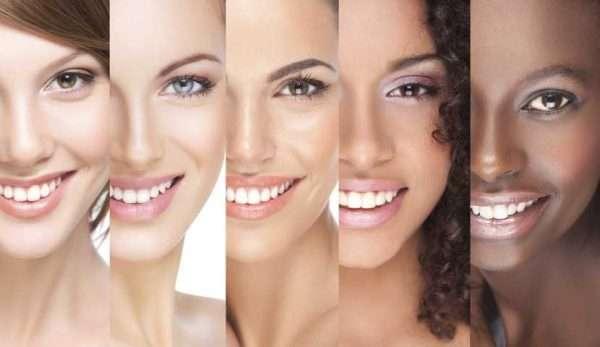 انواع پوست های صورت
