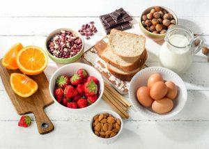 رژیم غذایی آلرژی دار