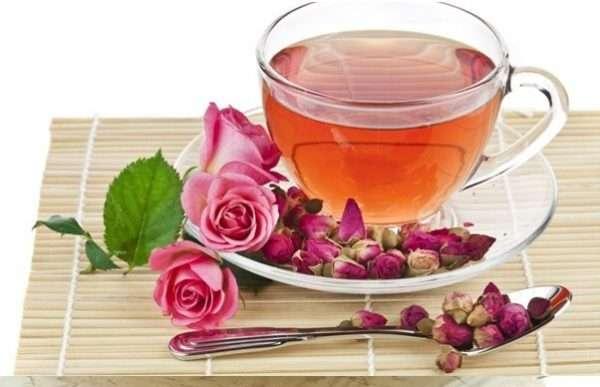 تصویر در فواید مصرف گل سرخ