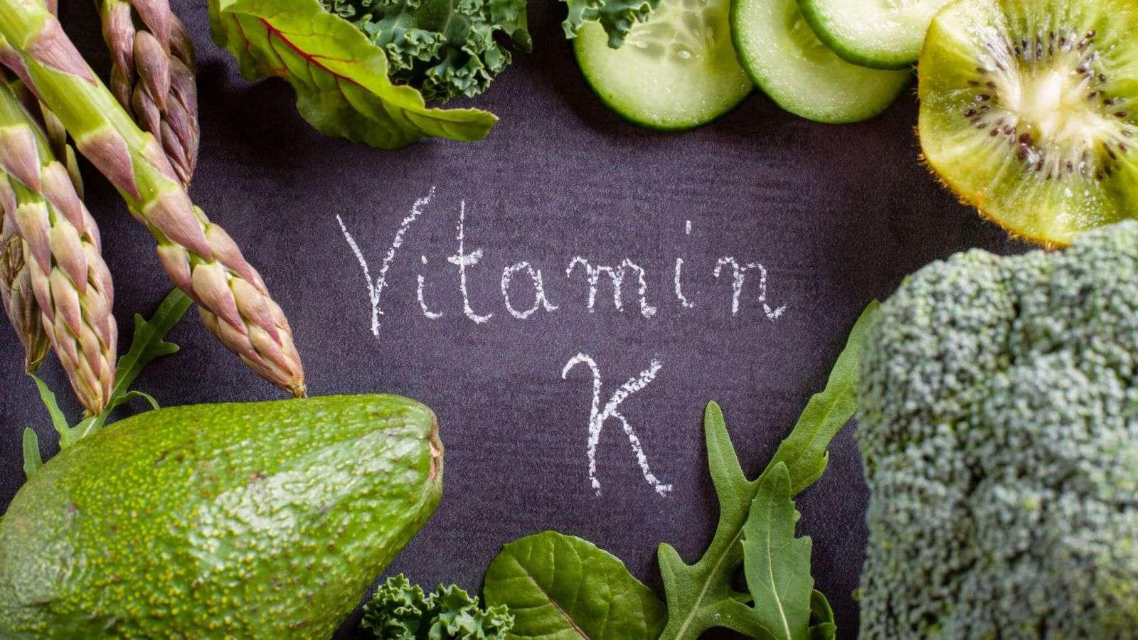 تصویر در غذاهایی که ویتامین K دارند