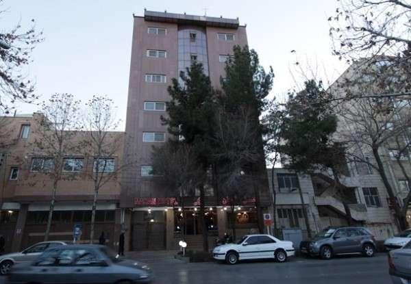 تصویر در هتل ماهان اصفهان